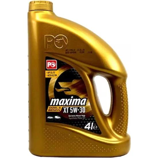 Petrol Ofisi Maxima CX 5W/30 4 Litre Motor Yağı