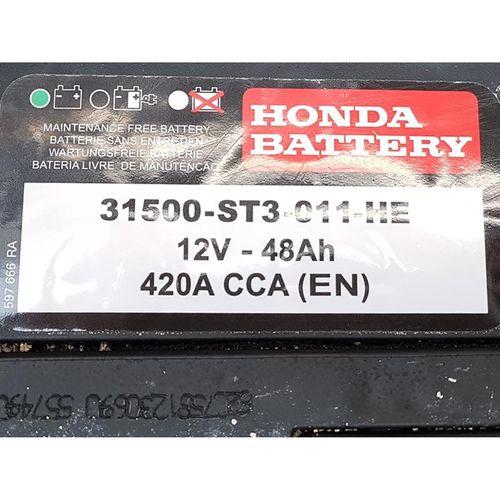 Honda FD6 Akü 2008-2012 (ORİJİNAL) - 31500ST3011HE